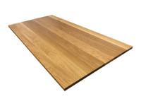 White Oak Wood Office Desk Top