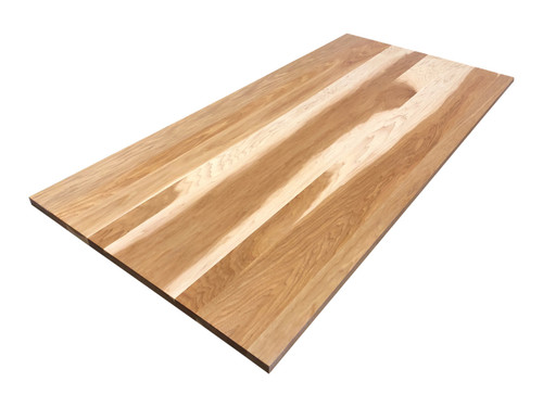Hickory Wooden Desk Top