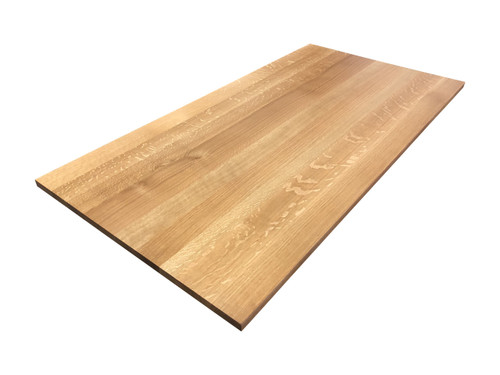 Quartersawn White Oak Wooden Desk Top