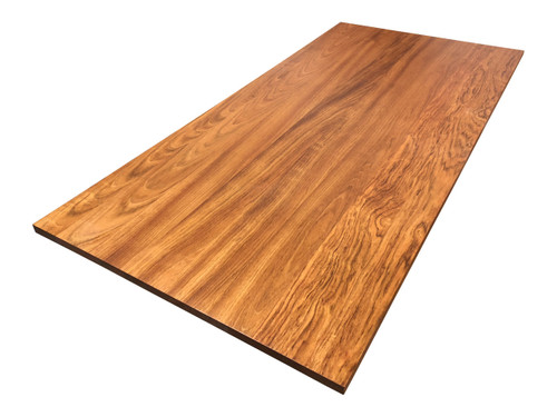 Build a Desk with a Brazilian Cherry (Jatoba) Hardwood Desk Top