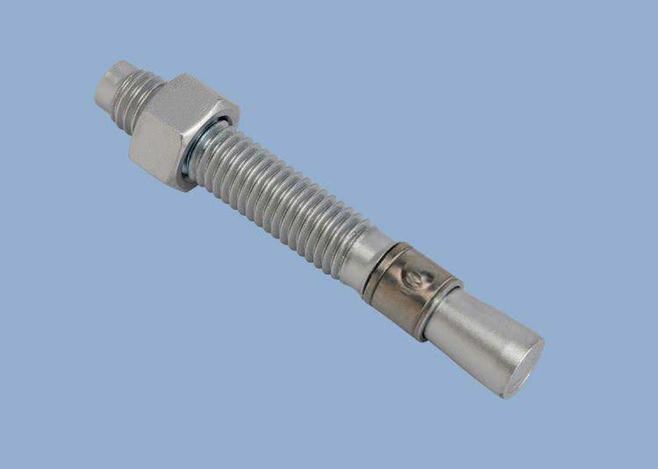 "Qty 25 3//8-16 x 3 3//4/"" Concrete Wedge Anchor Zinc Plated"