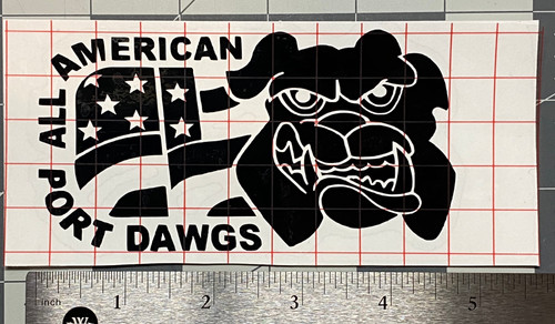 Decal All American