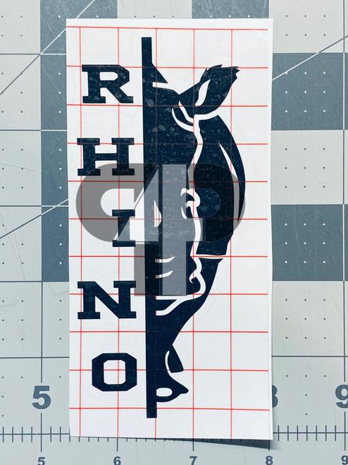 Decal Rhino Half
