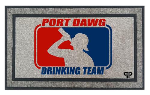 Port Dawg Drinking Mat