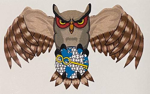 Log Plan Owl Sticker