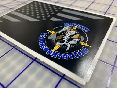 GT Sticker Flag