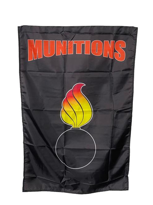 MUNITIONS FLAG