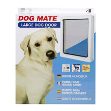 Dog Mate Dog Flap Pet Door White 216 216W