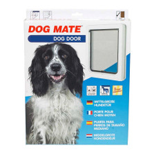Dog Mate Dog Flap Pet Door White 215 215W