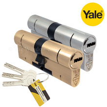 YALE Superior 1 Star Anti Snap Euro Cylinder UPVC Front Door Lock
