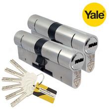 YALE Superior 1 Star Keyed Alike Anti Snap Euro Cylinder UPVC Front Door Lock