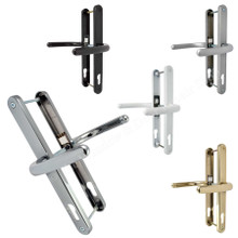 Fab & Fix Blenheim UPVC Door Handle Pair 92mm PZ 240mm Fixings