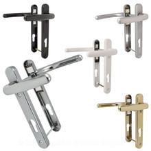 Fab & Fix Windsor UPVC Door Handle Pair 92mm PZ 122mm Fixings