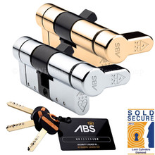 Avocet  ABS Quantum 3 Star Thumb Turn Anti Snap Euro Cylinder UPVC Front Door Lock TS007