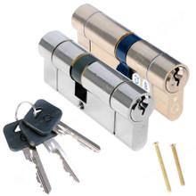 Greenteq 1 Star Anti Snap Euro Cylinder UPVC Front Door Lock