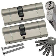UAP 1 Star Keyed Alike Anti Snap Euro Cylinder UPVC Front Door Lock