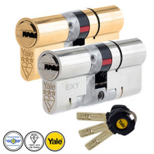 Yale Platinum 3 Star Anti Snap Euro Cylinder UPVC Front Door Lock TS007