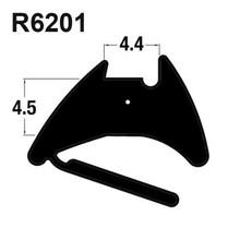 R6201 Black EPDM Reddiglaze Wedge Gasket UPVC Window Door Double Glazing Rubber Seal