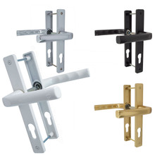 Hoppe Ferco UPVC Door Handle Pair 70mm PZ 180mm Fixings
