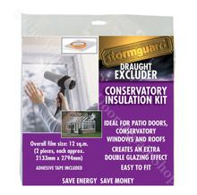 Stormguard Secondary Double Glazing Window Insulation Shrink Film Kit 12 m²