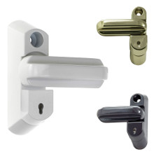 Fab & Fix Sash Jammer Kit Extra Security Lock UPVC Windows and Doors