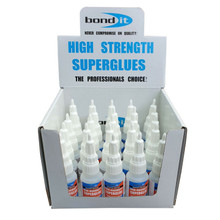 Bond It Industrial Super Glue High Viscosity 25 x 20g