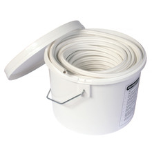 White Stormguard Replacement Bubble Gasket UPVC Window Door Double Glazing Rubber Seal 25m Tub