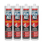 Soudal Fix All High Tack Polymer Adhesive 4 Pack