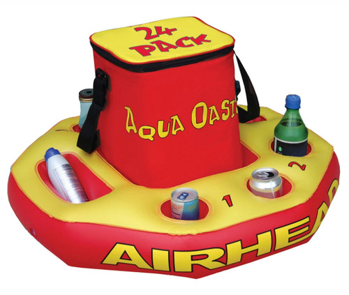 Airhead Aqua Oasis Floating River/Lake/Pool Cooler