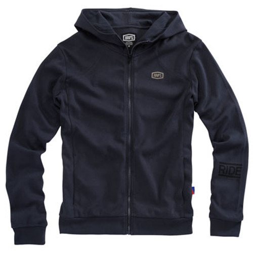 100% Chamber Mens Zip Up Hoody
