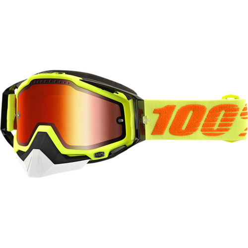 100% Racecraft Snow Attack Snow Goggles