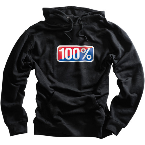 100% Classic Mens Pullover Hoody