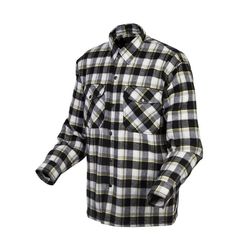 Scorpion Covert Moto Mens Long Sleeve Button Flannel Shirt
