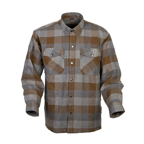 Scorpion Covert Moto Mens Long Sleeve Button Up Flannel Shirt