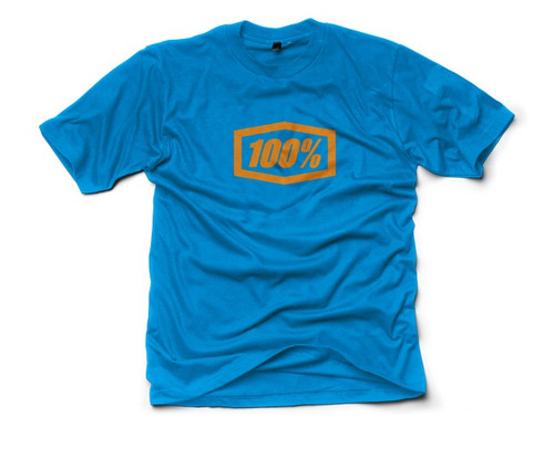 100% Essential Mens Short Sleeve Premium T-Shirt