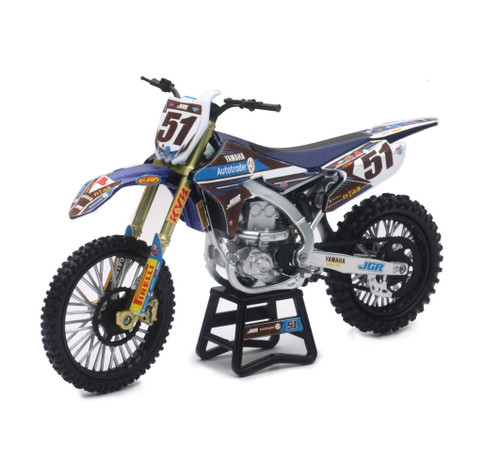 NewRay 1:12 Scale Barcia Yamaha YZ450