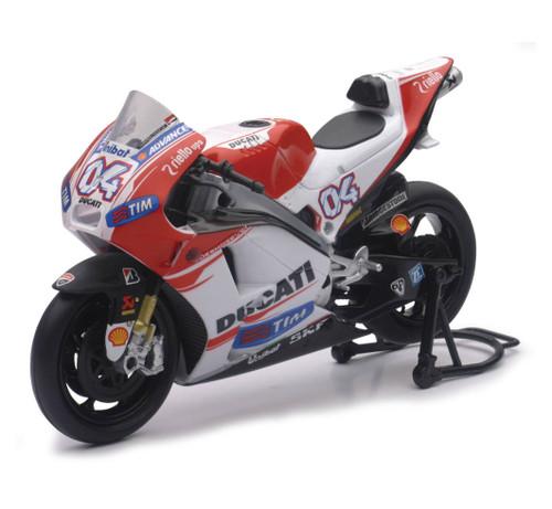 NewRay 1:12 Scale Die Cast Toy Replica Dovisioso '15 Ducati Desmo