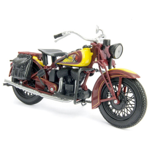 NewRay 1:12 Scale Motorcycle 1934 Indian Sport Scout Toy