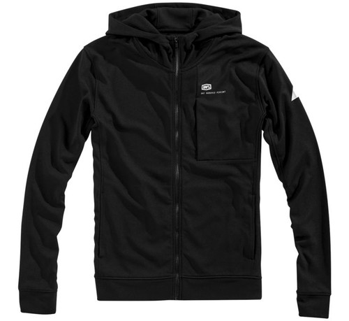 100% Regent Tech Mens Zip Up Hoody