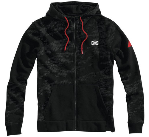 100% Emissary '19 Mens Zip Up Hoody