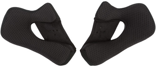 GMAX GM-39Y//S Snap-In Replacement Cheek Pads Black
