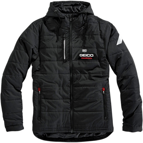 100% Geico Honda Alpha Mens Hooded Jacket