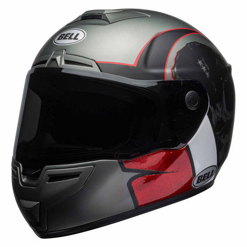 Bell SRT Solid Hart-Luck Motorcycle Helmet