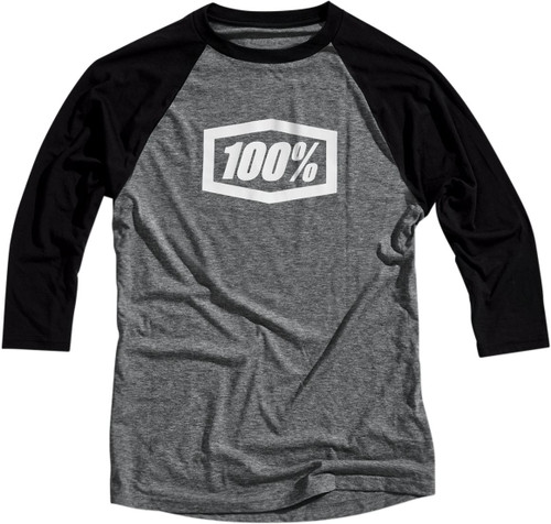 100% Essential Tech Mens 3/4 Sleeve T-Shirt