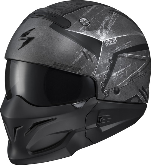 Scorpion Covert Incursion Phantom 3-in-1 Motorcycle Helmet