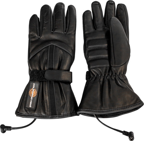 California Heat 12V Mens Heated Leather Gloves