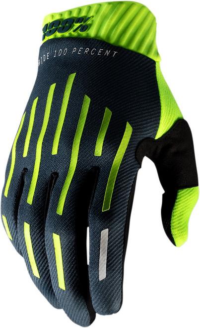 100% Ridefit Mens MX Offroad Gloves