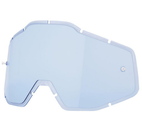 100% Racecraft Plus Injected Anti-Fog Goggle Lens
