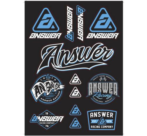 Answer Answer Sticker Kit