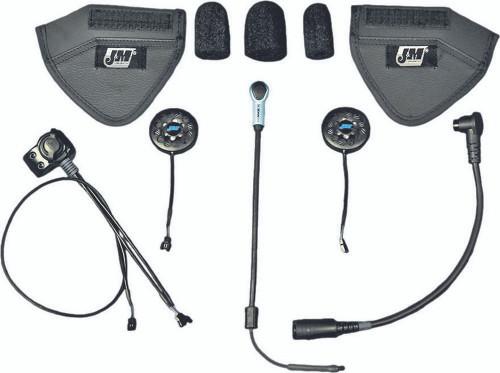 J&M 801 Series Helmet Shorty Style Headsets